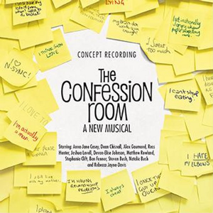 The Confession Room Concept Cast Recording CD